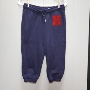 Nike University of Nebraska Capri Sweats